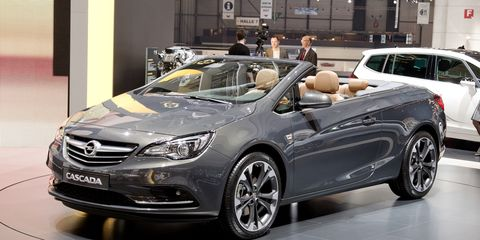 2014 Opel Cascada Convertible Photos and Info – News – Car and Driver