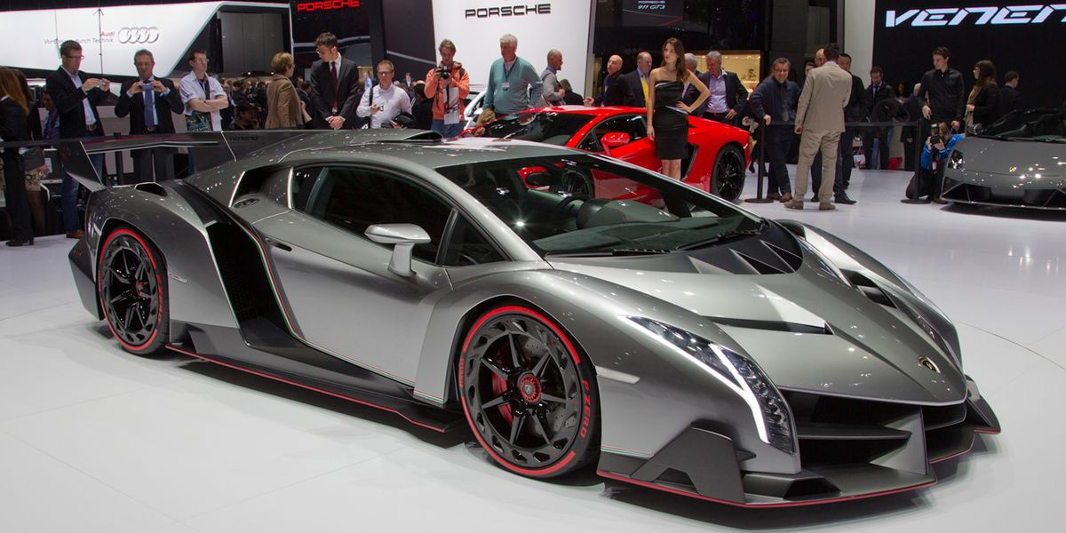 Lamborghini Veneno Just Three Of These Will Ever Exist