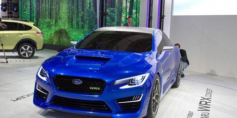 Subaru WRX Concept –