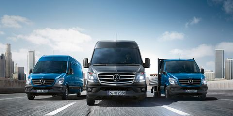 2014 Mercedes-Benz Sprinter Photos and Info –