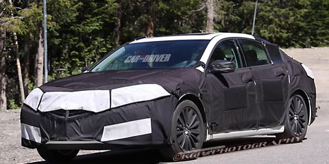 2015 Acura Tlx Spy Photos 8211 Future Cars 8211 Car And Driver