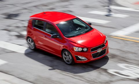 2013 chevy sonic rs