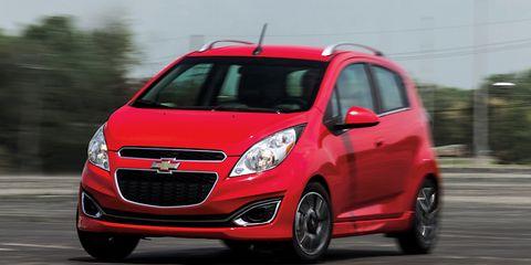 2013 Chevrolet Spark Manual Hatchback Test 8211 Review