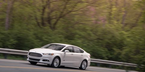 2017 Ford Fusion Energi Anium Plug In Hybrid Electric