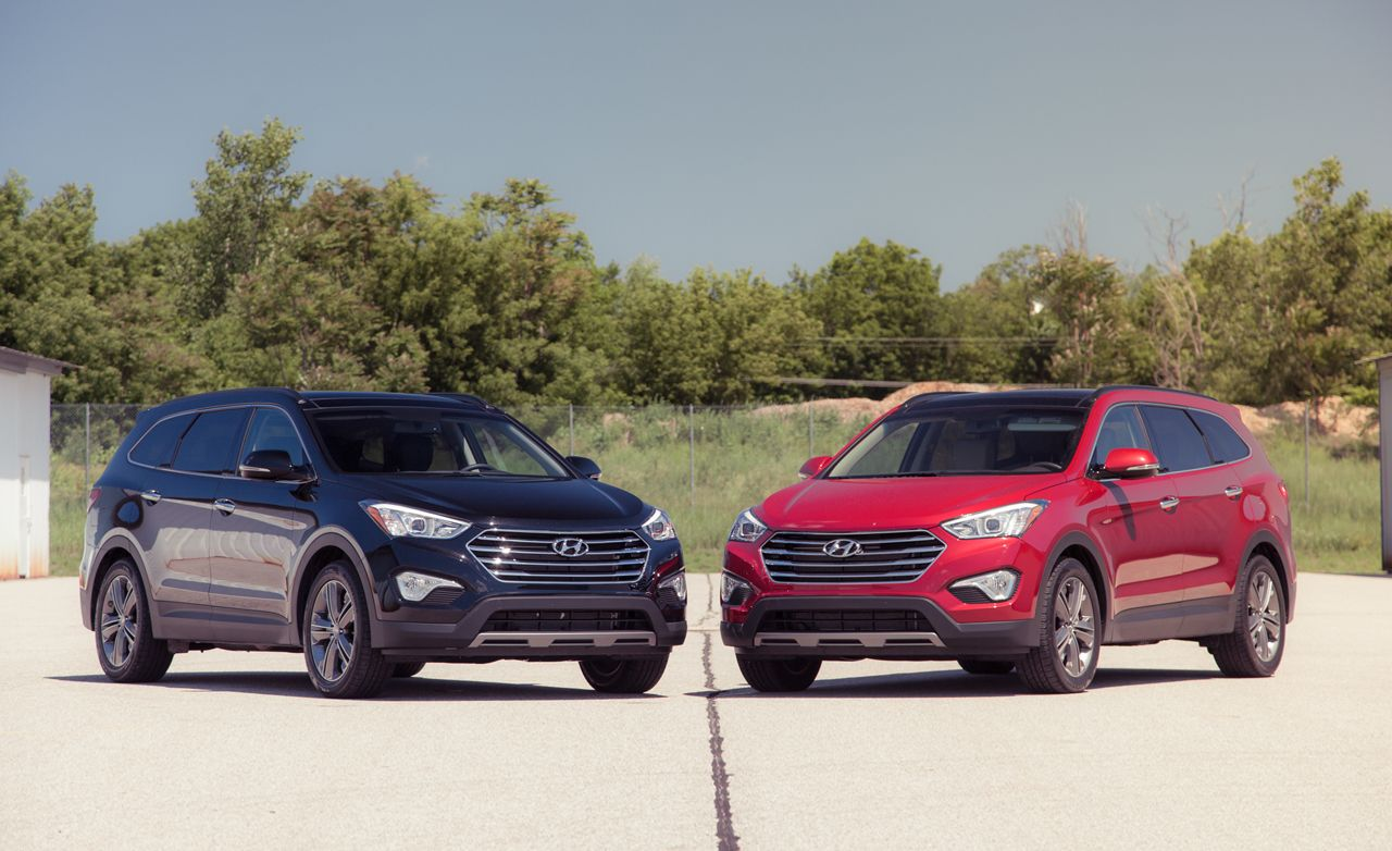 2013 Hyundai Santa Fe Limited Fwd Awd Test 8211 Review 8211