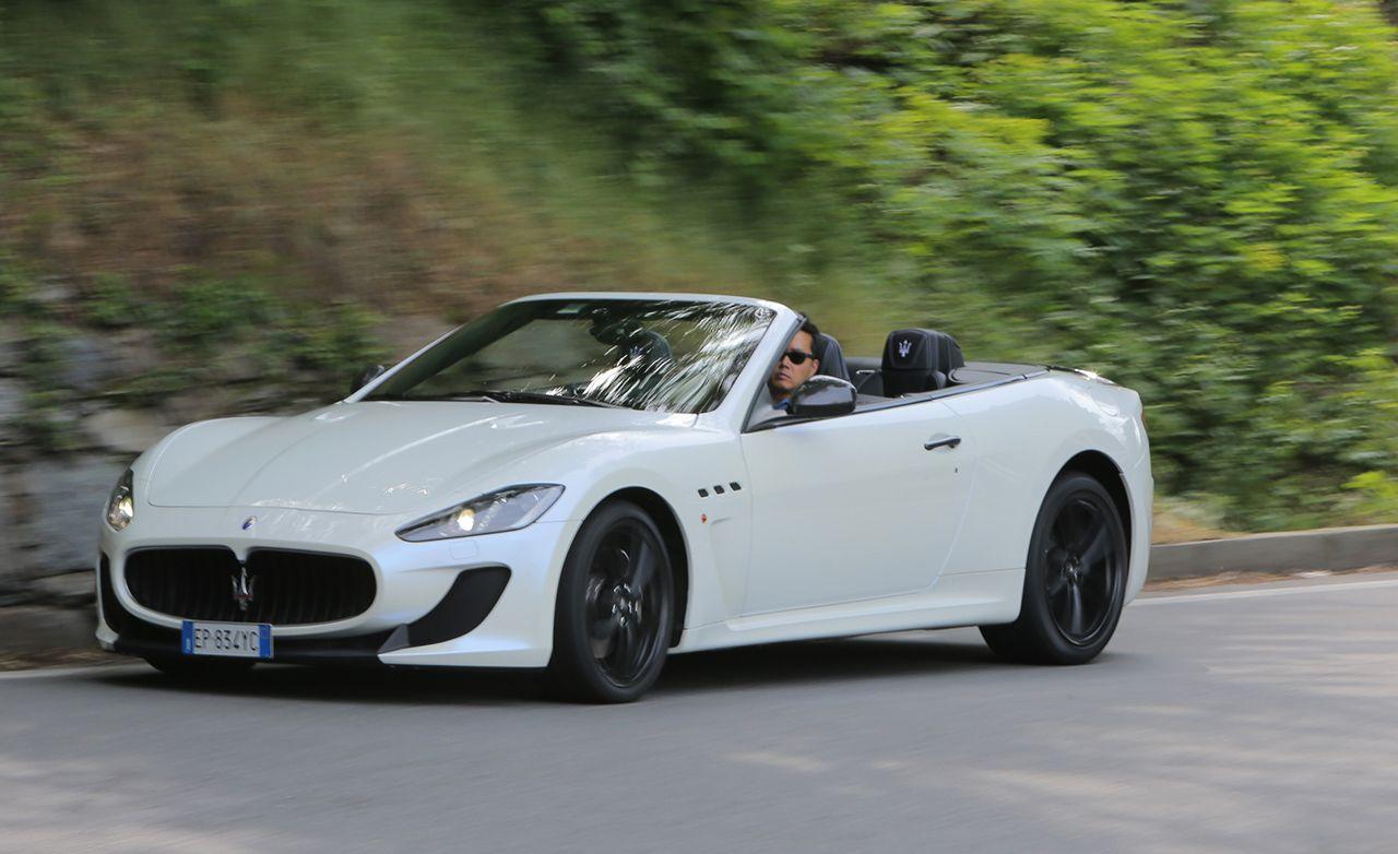 2017 Maserati Granturismo Mc Convertible First Drive 8211 Review Car And Driver