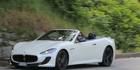 2013 Maserati Granturismo Mc Convertible First Drive 8211 Review