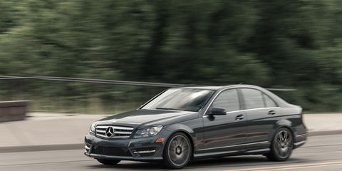 2013 Mercedes-Benz C300 4MATIC Sedan Test –