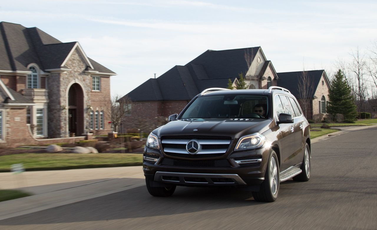 Mercedes gl 450 review