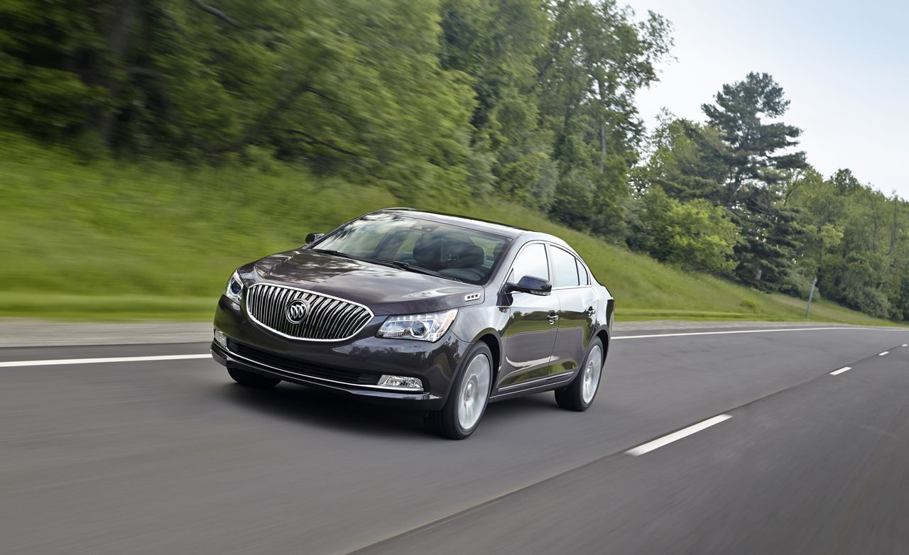 2014 Buick Lacrosse First Drive 8211 Review 8211 Car And Driver