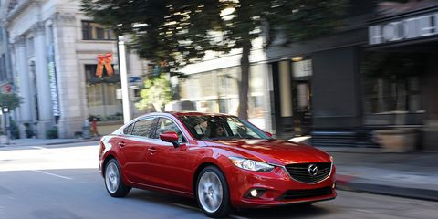 Mazda 6 Sport >> 2014 Mazda 6 I Sport Test 8211 160 Review 8211 Car