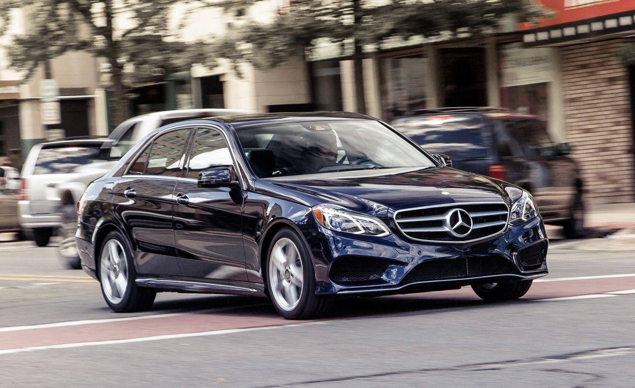 ad5781cea3ef8b 2014 Mercedes-Benz E350 4MATIC Sedan Test   8211  Review   8211  Car and  Driver
