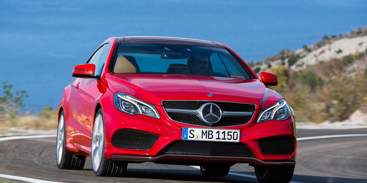 2014 Mercedes-Benz E550 Coupe First Drive – Review – Car ...