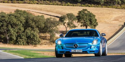 View Photos Image The Mercedes Benz Sls Amg Electric