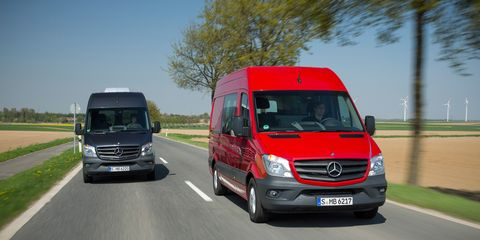 2014 Mercedes-Benz Sprinter First Drive –