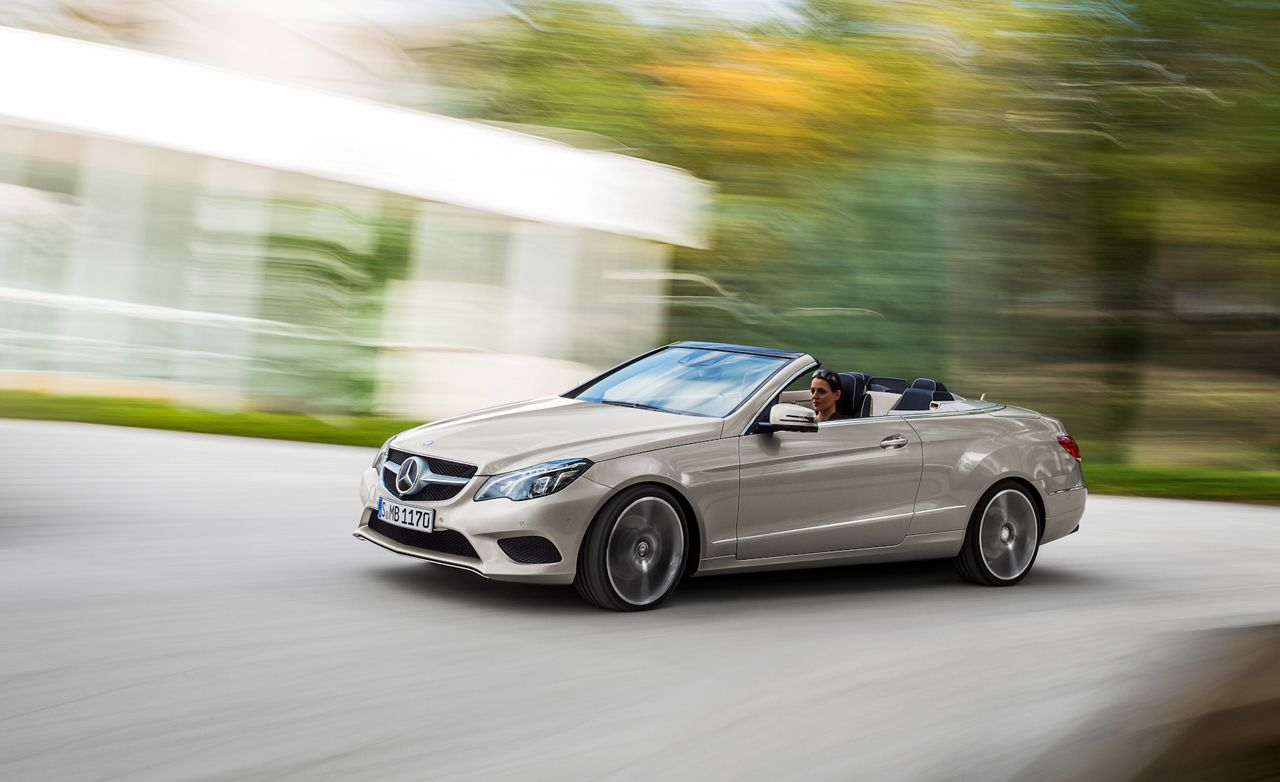 2017 Mercedes Benz E400 Cabriolet First Drive 8211 Review Car And Driver