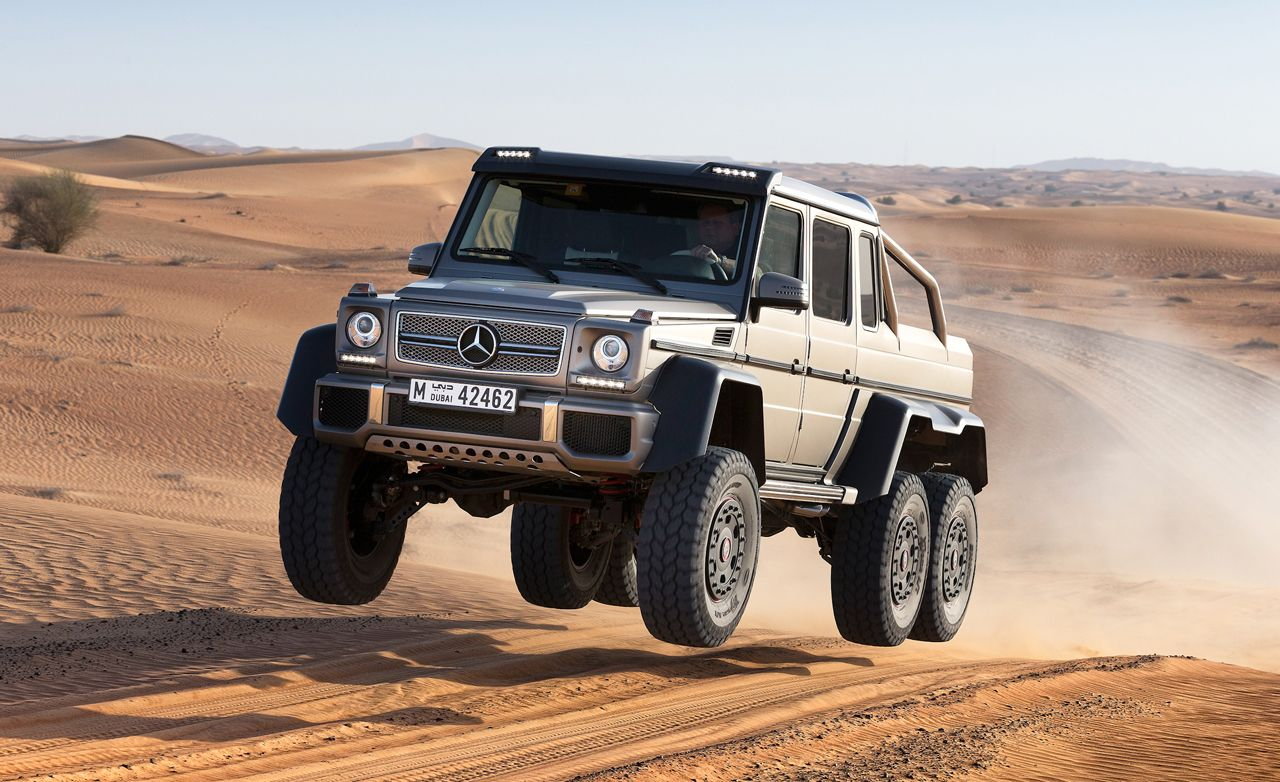 Mercedes Benz G63 Amg 6x6 Prototype Drive 8211 Review 8211 Car And Driver