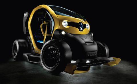 Automotive design, Yellow, Automotive tire, Automotive exterior, Vehicle door, Automotive lighting, Automotive wheel system, Machine, Auto part, Concept car,