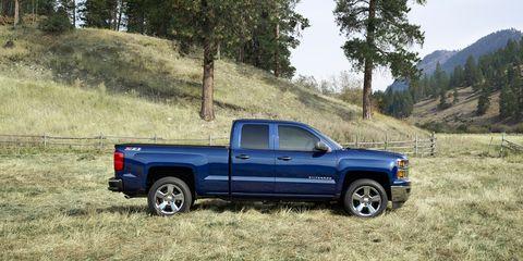Wheel, Pickup truck, Natural environment, Vehicle, Truck, Automotive tire, Landscape, Fender, Rim, Automotive exterior,