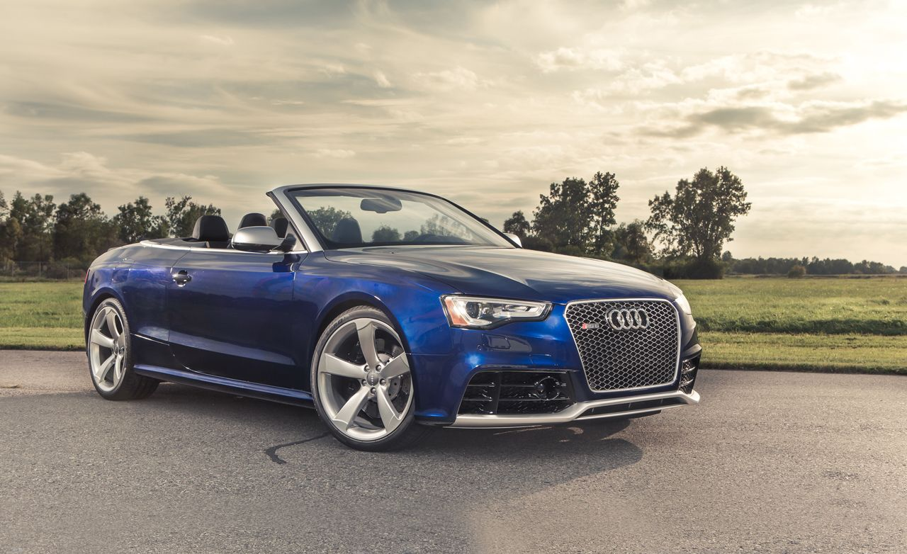 2013 Audi Rs5 Cabriolet Test 8211 Review 8211 Car And Driver