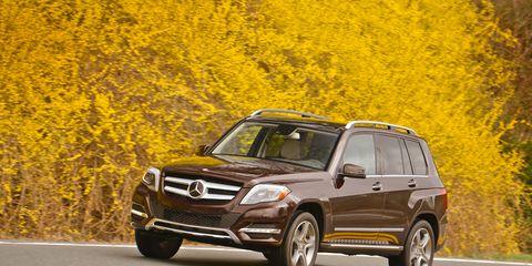 2013 Mercedes-Benz GLK250 BlueTec Diesel Test –