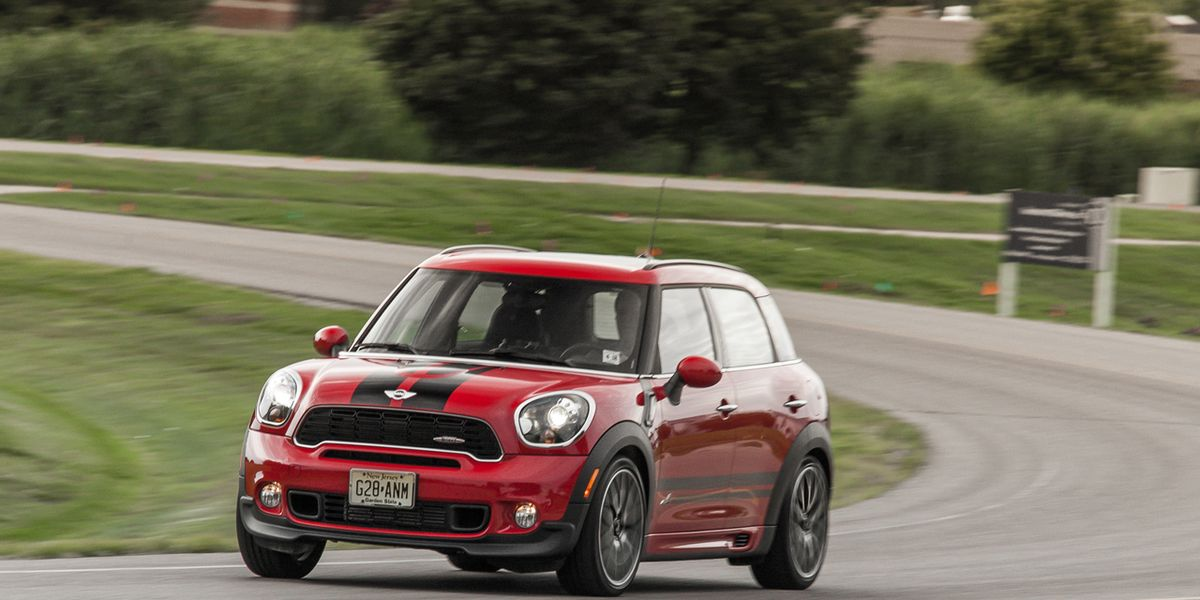 Used Mini Cooper Countryman >> 2013 Mini John Cooper Works Countryman ALL4 Test – Review – Car and Driver