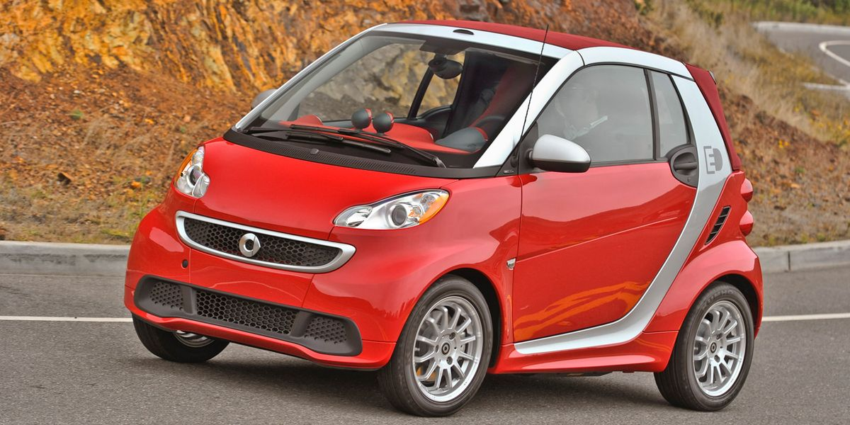 2013 Smart Fortwo Electric Drive First Drive - Review ...