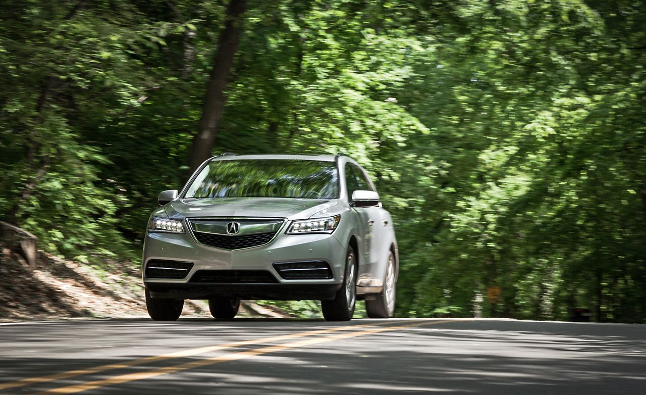 2014 Acura Mdx Sh Awd Test 8211 Review 8211 Car And Driver