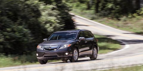 Acura Rdx Dimensions >> 2014 Acura Rdx Instrumented Test 8211 Review 8211 Car And Driver