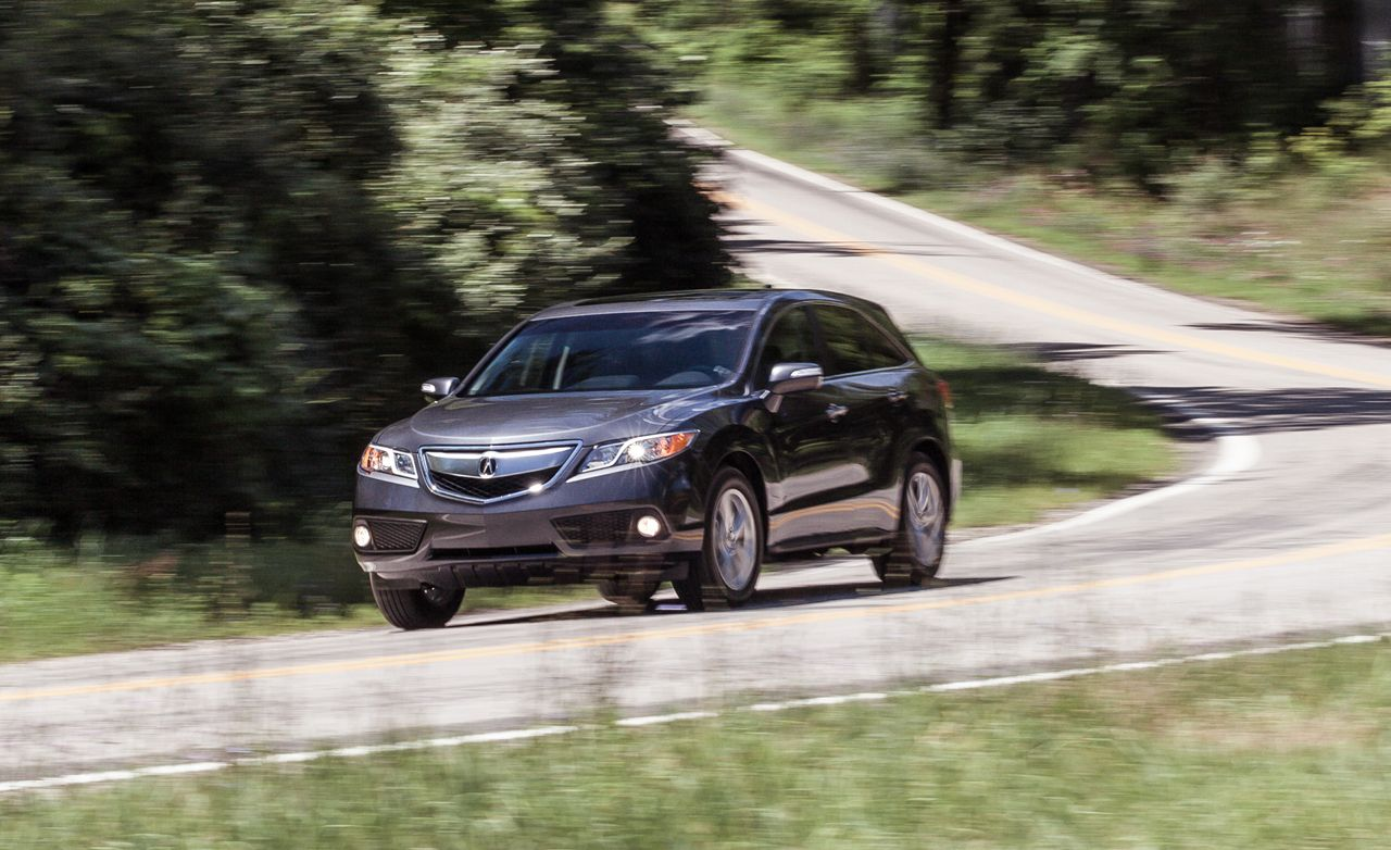2014 Acura Rdx Instrumented Test 8211 Review 8211 Car And Driver