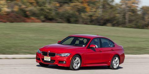 2014 BMW 328d Diesel Sedan Instrumented Test ¬