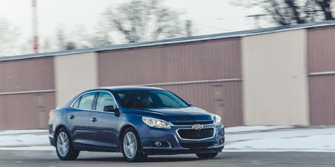 2014 Chevrolet Malibu Test 8211 Review 8211 Car And Driver