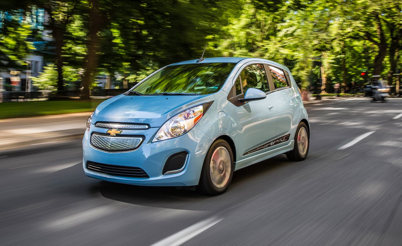 2017 Chevrolet Spark Ev First Drive 8211 Review Car And Driver