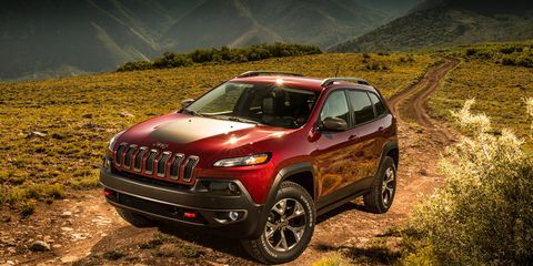 2014 Jeep Cherokee Trailhawk V-6 4x4 First Drive - Review ...