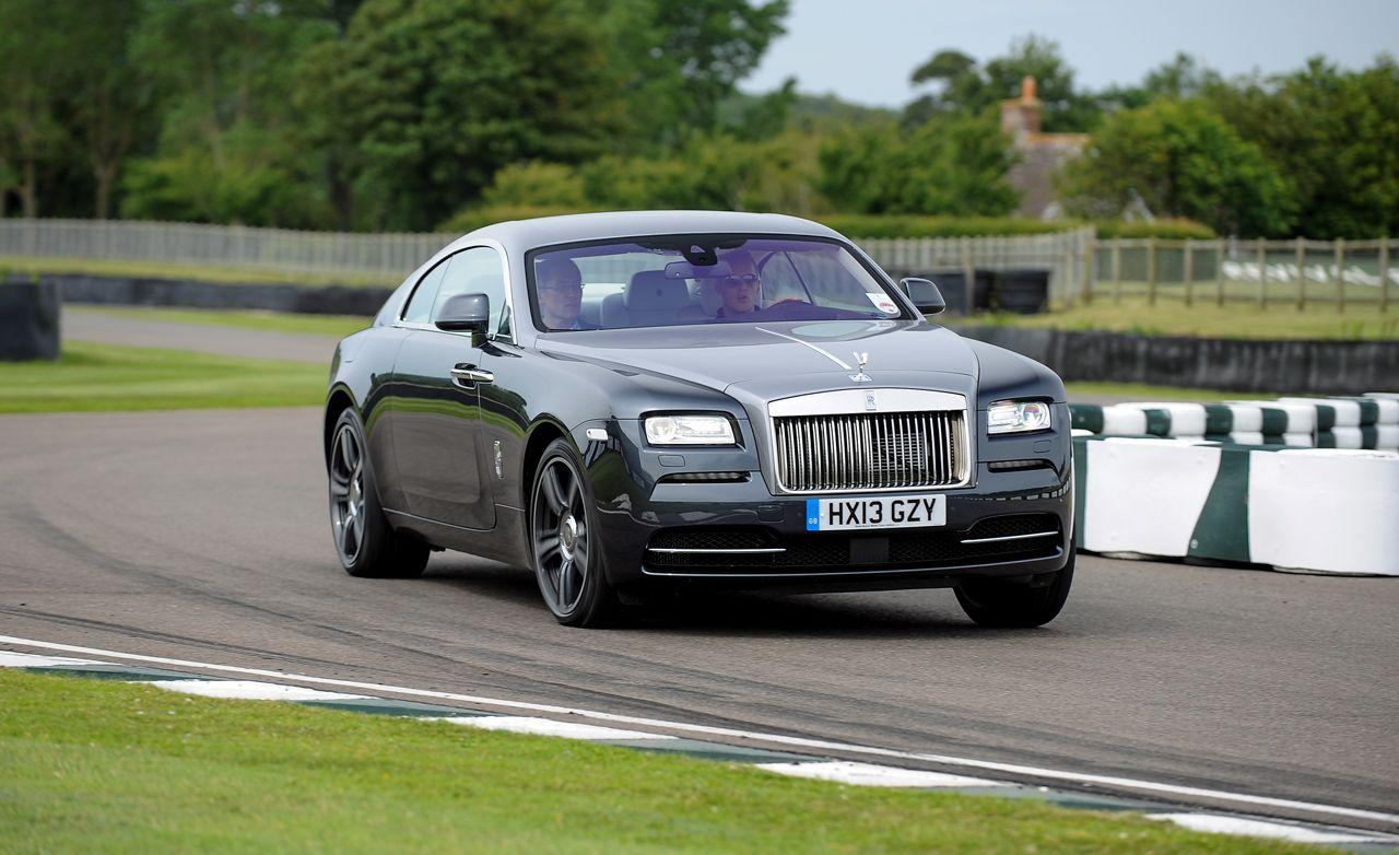 2017 Rolls Royce Wraith First Drive