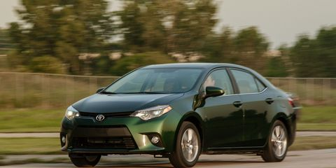 Toyota Corolla Le >> 2014 Toyota Corolla Le Eco Test 8211 Review 8211 Car And Driver