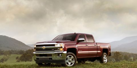 2015 Chevrolet Silverado 2500 / 3500 HD Photos and Info