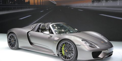 2017 Porsche 918 Spyder Production Spec Finally Revealed