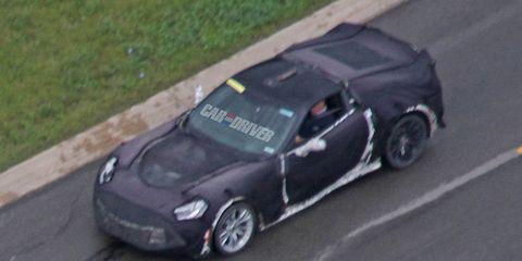 2016 Chevrolet Corvette Z07 Spy Photos 8211 News 8211 Car And Driver
