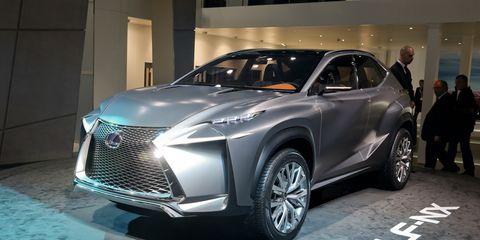 Lexus Lf Nx >> Lexus Lf Nx Concept Photos And Info 8211 News 8211 Car