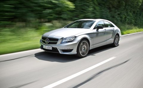 2014 Mercedes-Benz CLS63 AMG S Model 4matic