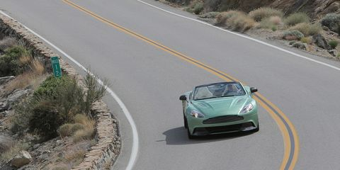 2014 Aston Martin Vanquish Volante First Drive 8211 Review 8211 Car And Driver
