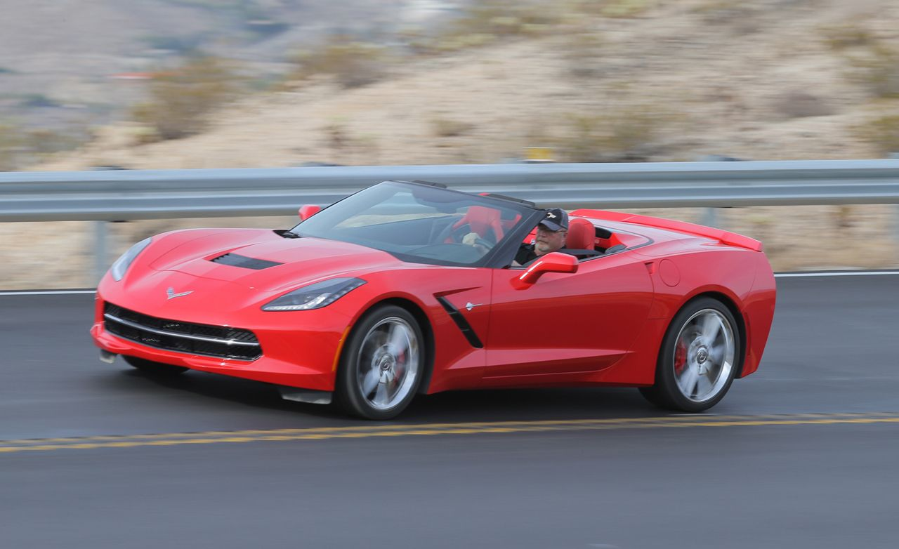 2017 Chevrolet Corvette Convertible First Drive 8211 Review Car And Driver