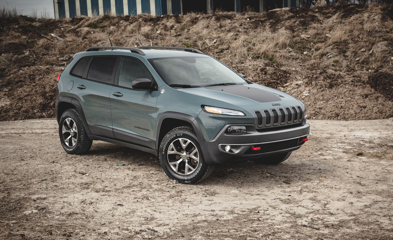 2017 Jeep Cherokee Trailhawk V 6 Test 8211 Review Car And Driver