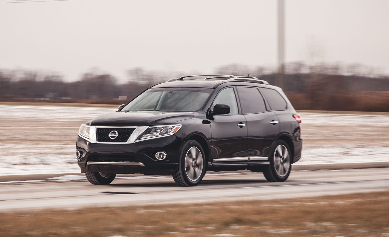 2017 Nissan Pathfinder Hybrid Awd Test 8211 Review Car And Driver