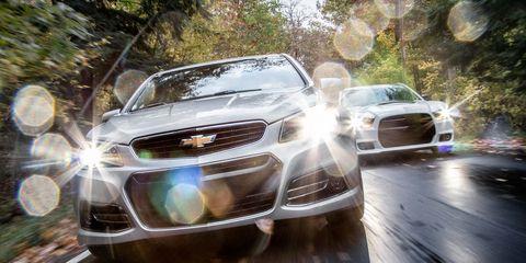 2014 Chevrolet SS vs  2013 Dodge Charger SRT8 392 –