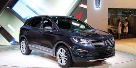 2017 Lincoln Mkc Stylish Sheetmetal New Ecoboost Engine