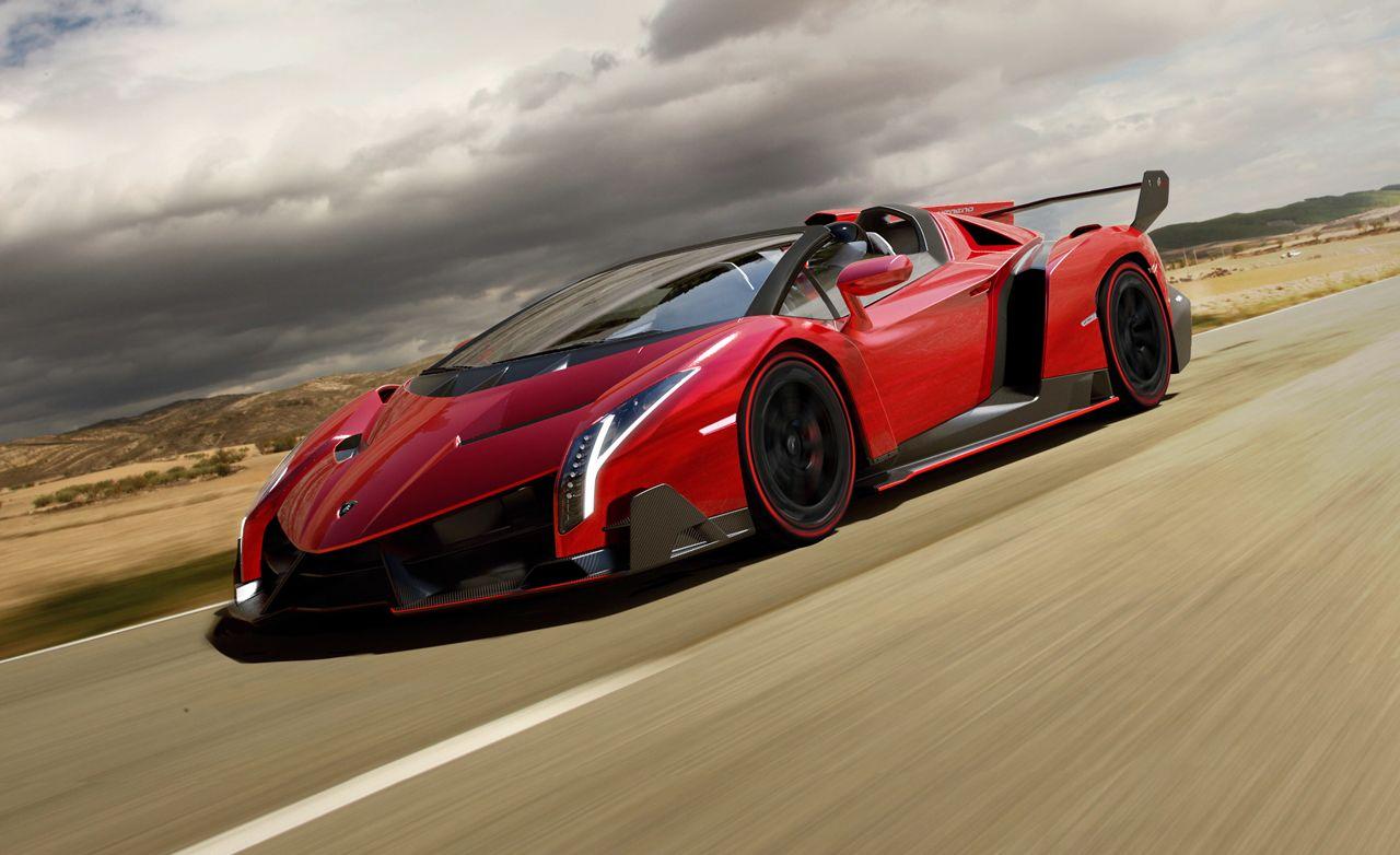 Lamborghini Veneno Roadster 4 5 Mil 221 Mph No Roof