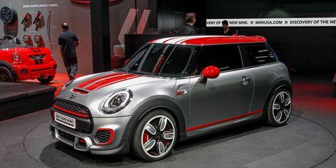 Mini John Cooper Works Concept 8211 Auto Shows 8211 Car And Driver
