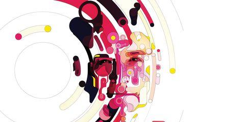 Circle, Graphics, Illustration, Drawing, Painting, Artwork, Graphic design,
